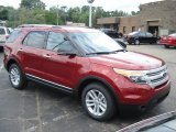 2013 Ruby Red Metallic Ford Explorer XLT 4WD #69213788