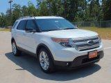 2013 White Platinum Tri-Coat Ford Explorer XLT #69214464