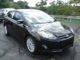 2012 Tuxedo Black Metallic Ford Focus Titanium 5-Door #69213783