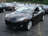 Tuxedo Black Metallic Ford Focus in 2012