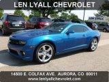2010 Aqua Blue Metallic Chevrolet Camaro SS/RS Coupe #69213781