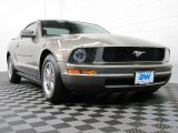 2005 Mineral Grey Metallic Ford Mustang V6 Premium Coupe #69214123