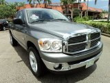 2008 Mineral Gray Metallic Dodge Ram 1500 Big Horn Edition Quad Cab #69213768