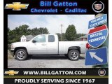 2013 Silver Ice Metallic Chevrolet Silverado 1500 LT Extended Cab 4x4 #69214426