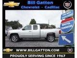 2013 Silver Ice Metallic Chevrolet Silverado 1500 LT Extended Cab 4x4 #69214423