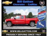 2013 Victory Red Chevrolet Silverado 1500 LT Extended Cab 4x4 #69214416