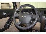 2009 Hummer H3 X Steering Wheel
