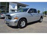 2011 Bright Silver Metallic Dodge Ram 1500 SLT Quad Cab #69214087