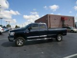 2009 Patriot Blue Pearl Dodge Ram 3500 SLT Quad Cab 4x4 #69214346