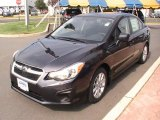 2012 Dark Gray Metallic Subaru Impreza 2.0i Premium 4 Door #69213642