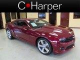 2010 Red Jewel Tintcoat Chevrolet Camaro SS Coupe #69214305