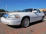 2004 Vibrant White Lincoln Town Car Signature #69214293