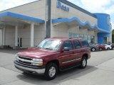 2004 Sport Red Metallic Chevrolet Tahoe LS 4x4 #69214274