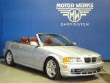 2001 Titanium Silver Metallic BMW 3 Series 330i Convertible #69213577