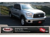 2010 Silver Sky Metallic Toyota Tundra CrewMax 4x4 #69213536