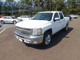 2013 Summit White Chevrolet Silverado 1500 LT Crew Cab #69214236