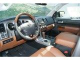 2012 Toyota Tundra Platinum CrewMax 4x4 Sand Beige Interior