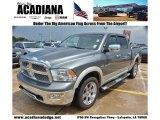 2010 Mineral Gray Metallic Dodge Ram 1500 Laramie Crew Cab 4x4 #69213854