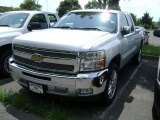 2012 Silver Ice Metallic Chevrolet Silverado 1500 LT Extended Cab #69213830