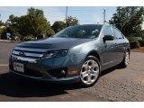 2011 Steel Blue Metallic Ford Fusion SE V6 #69214161