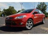 2012 Red Candy Metallic Ford Focus SE Sport Sedan #69214147