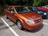 2007 Sunburst Orange Metallic Chevrolet Cobalt LS Sedan #69275363