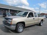 2005 Sandstone Metallic Chevrolet Silverado 1500 LT Extended Cab 4x4 #69275333