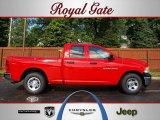 2012 Flame Red Dodge Ram 1500 ST Quad Cab #69275022