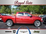 2012 Deep Cherry Red Crystal Pearl Dodge Ram 1500 Big Horn Crew Cab 4x4 #69275309