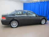 Jet Black BMW 7 Series in 2003