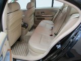 2003 BMW 7 Series 745i Sedan Rear Seat