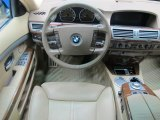 2003 BMW 7 Series 745i Sedan Dashboard