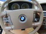 2003 BMW 7 Series 745i Sedan Steering Wheel