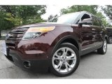2011 Bordeaux Reserve Red Metallic Ford Explorer Limited 4WD #69275189