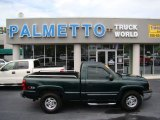 2004 Dark Green Metallic Chevrolet Silverado 1500 Z71 Regular Cab 4x4 #69275181