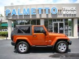 2011 Mango Tango Pearl Jeep Wrangler Sahara 4x4 #69275180