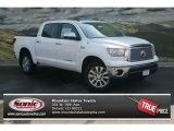 2012 Super White Toyota Tundra Platinum CrewMax 4x4 #69274972