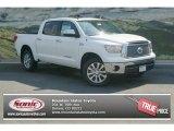 2012 Super White Toyota Tundra Platinum CrewMax 4x4 #69274970