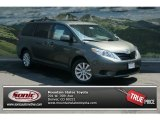 2012 Cypress Green Pearl Toyota Sienna LE AWD #69274958