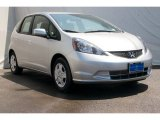 2013 Alabaster Silver Metallic Honda Fit  #69301108
