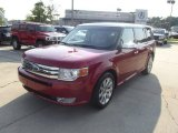 2010 Red Candy Metallic Ford Flex Limited #69301144