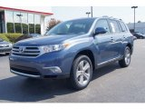 2012 Shoreline Blue Pearl Toyota Highlander Limited 4WD #69308009