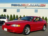 1995 Rio Red Ford Mustang SVT Cobra Coupe #69308413