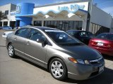 2006 Galaxy Gray Metallic Honda Civic LX Sedan #6900560