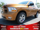 2012 Tequila Sunrise Pearl Dodge Ram 1500 Express Regular Cab #69307972