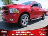 2012 Flame Red Dodge Ram 1500 Express Crew Cab #69307967