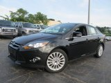 2012 Tuxedo Black Metallic Ford Focus Titanium Sedan #69307938