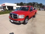 2007 Flame Red Dodge Ram 1500 SLT Regular Cab #69308160