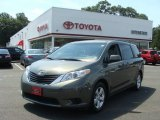 2012 Cypress Green Pearl Toyota Sienna LE #69308323