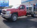2013 Chevrolet Silverado 3500HD WT Regular Cab 4x4 Dually Chassis Data, Info and Specs